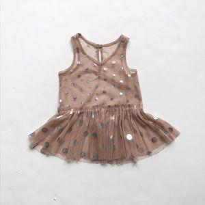 Stella McCartney baby polka dot dress GUC 6-12m